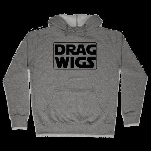 Drag Wigs Hooded Sweatshirt