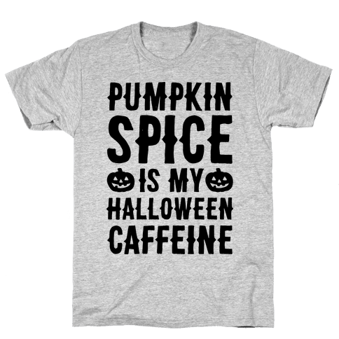 Halloween Caffeine  Mens T-Shirt