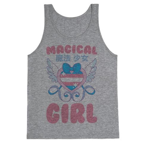 Magical Girl - Trans Pride Tank Top