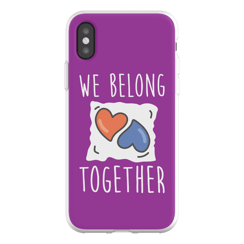 We Belong Together Tide Pod Phone Flexi-Case