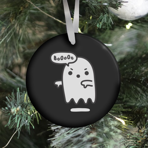 Disapproving Ghost Ornament