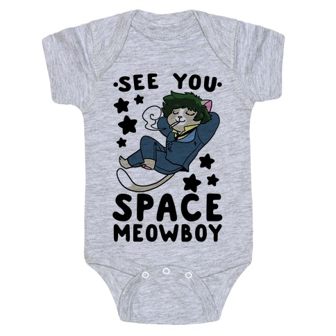 See you, Space Meowboy - Cowboy Bebop Baby Onesy
