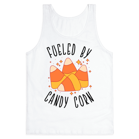 Fueled By Candy Corn Tank Top