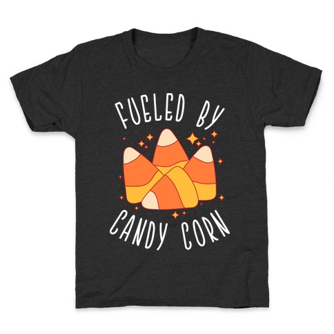 Fueled By Candy Corn Kids T-Shirt