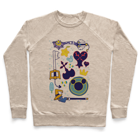Kingdom Hearts pattern Pullover