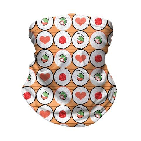 Maki Roll Pattern Neck Gaiter