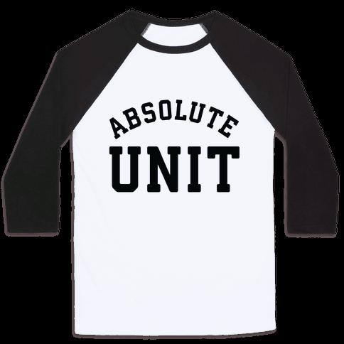 Absolute Unit Baseball Tee