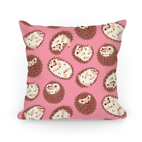 Floaty Hedgehogs Pillow