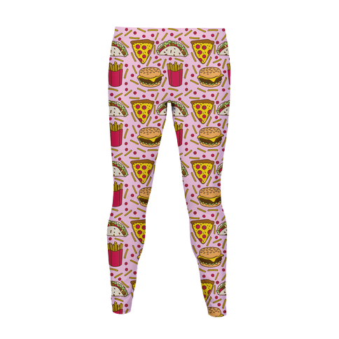 Junk Food Pattern Women's Legging