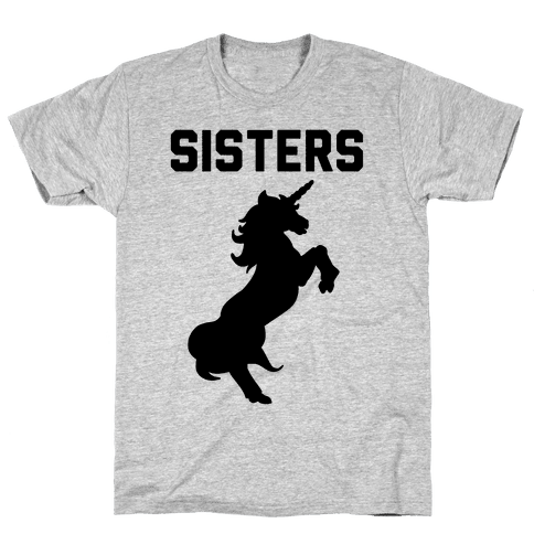 Unicorn Sisters Pair 2 Mens T-Shirt