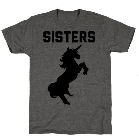 Unicorn Sisters Pair 2 T-Shirt