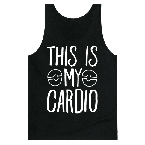 This Is My Cardio Tank Top