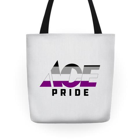 Ace Pride Parody Logo Tote
