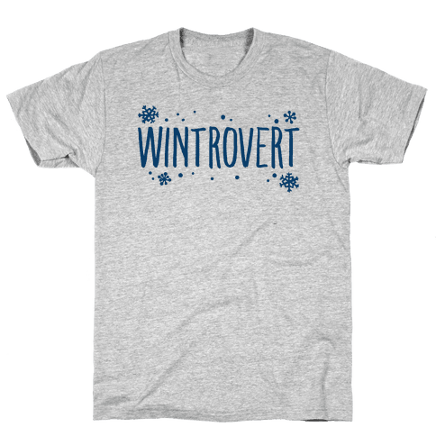 Wintrovert  Mens T-Shirt