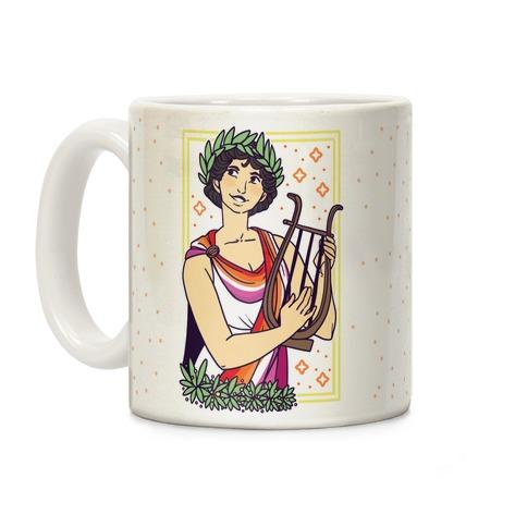 Sappho, Our Lady of Lesbians Coffee Mug