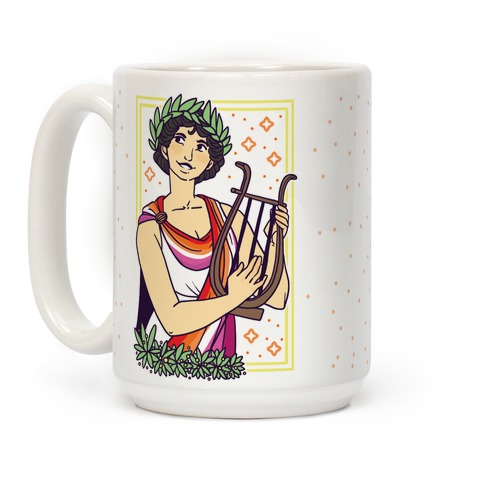 Sappho, Our Lady of Lesbians Coffee Mug