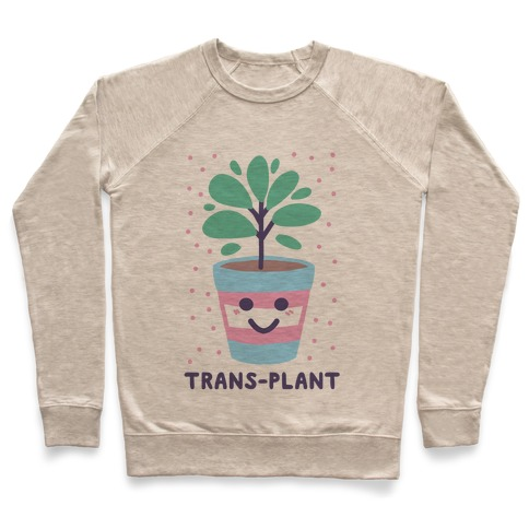 Trans Plant Pullover