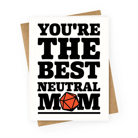 Neutral Mom Greeting Card