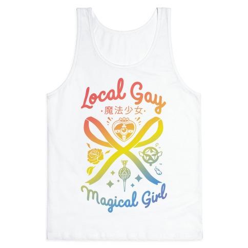 Local Gay Magical Girl Tank Top