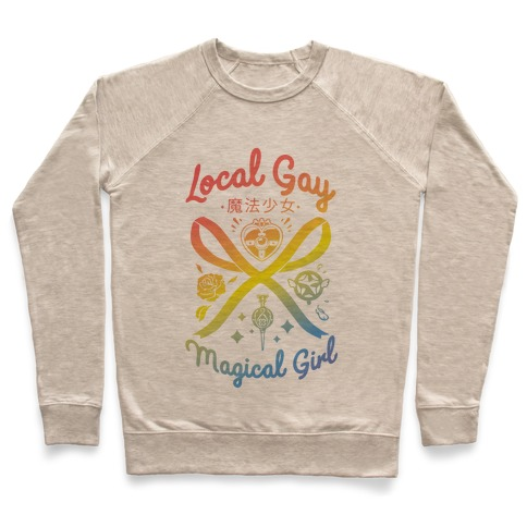 Local Gay Magical Girl Pullover