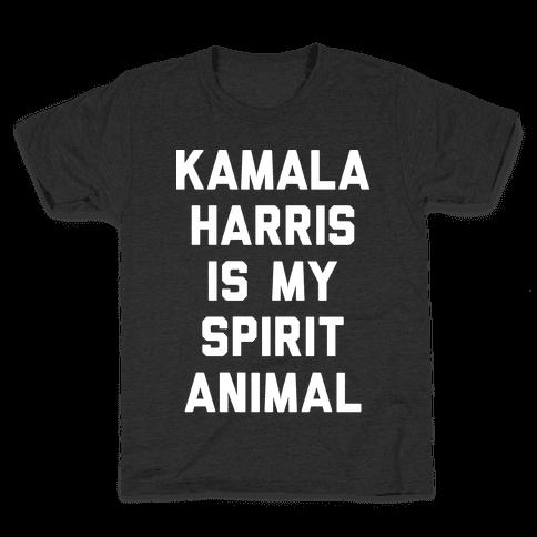 Kamala Harris Is My Spirit Animal Kids T-Shirt