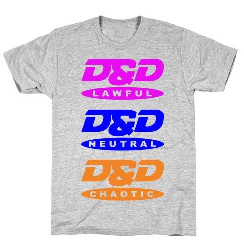 Dungeons and Dragons DVD Logo Parody  T-Shirt