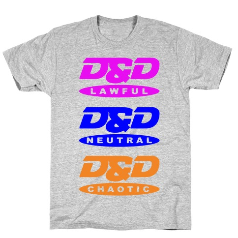 Dungeons and Dragons DVD Logo Parody  T-Shirt