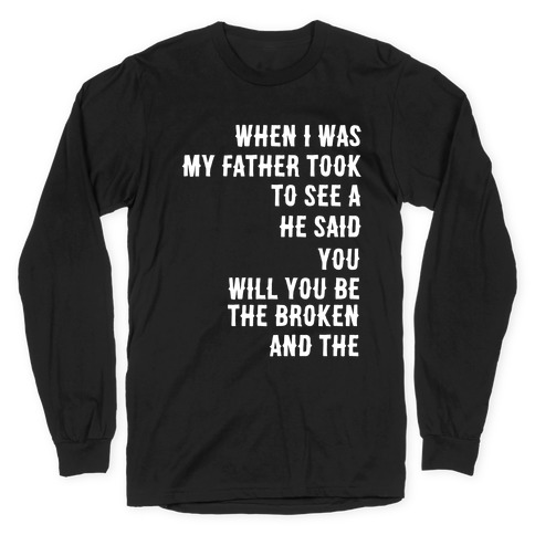 When I Was a Young Boy (1 of 2 pair) Long Sleeve T-Shirt