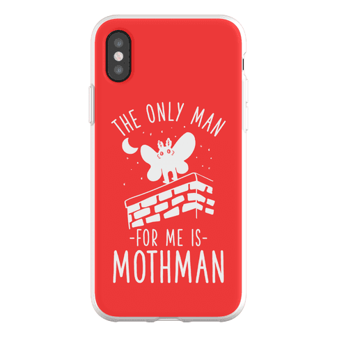 The Only Man for Me is Mothman Phone Flexi-Case