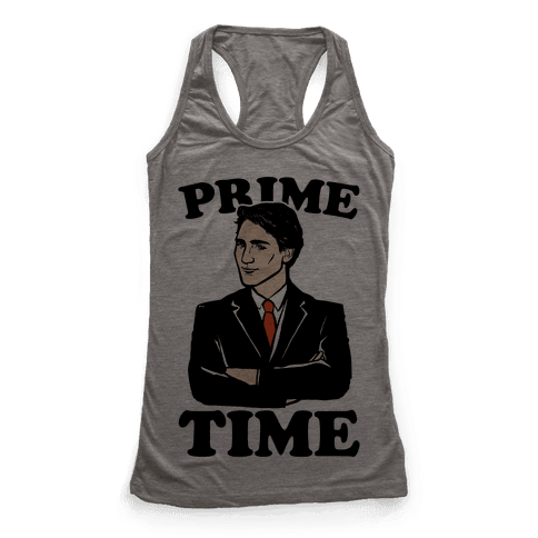 Prime Time  Racerback Tank Top