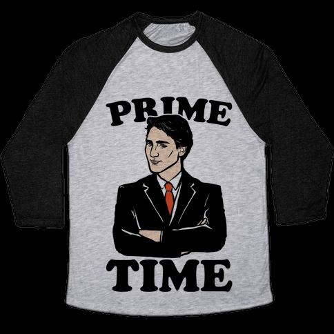 Prime Time  Baseball Tee