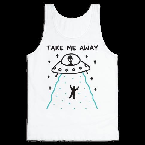Take Me Away UFO Tank Top