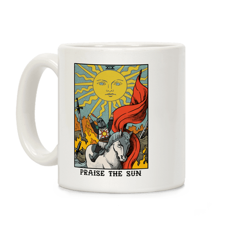 Praise The Sun Tarot Card Coffee Mug