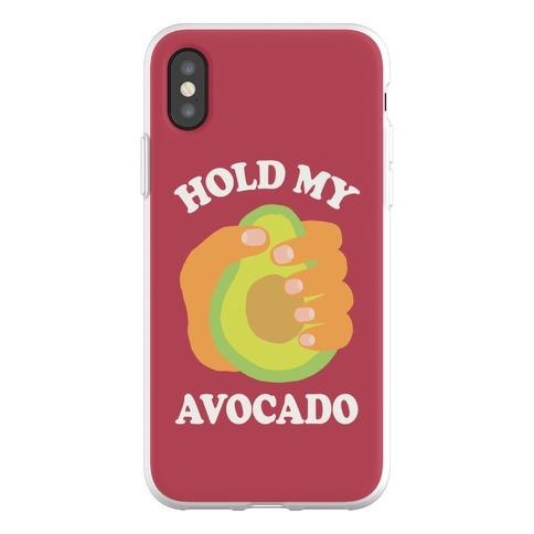 Hold My Avocado Phone Flexi-Case