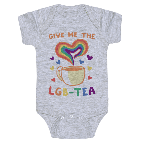Give Me the LGBTea Baby Onesy
