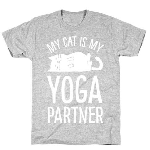 My Cat Is My Yoga Partner T-Shirt