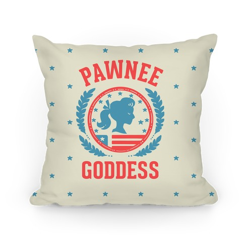 Pawnee Goddess Pillow