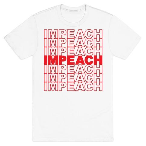 Impeach Thank You Bag Parody T-Shirt