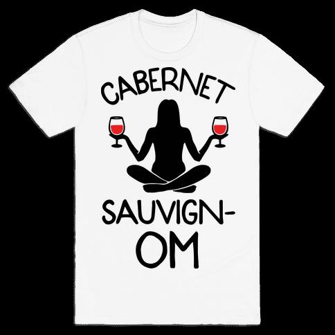 Cabernet Sauvign-OM Mens T-Shirt