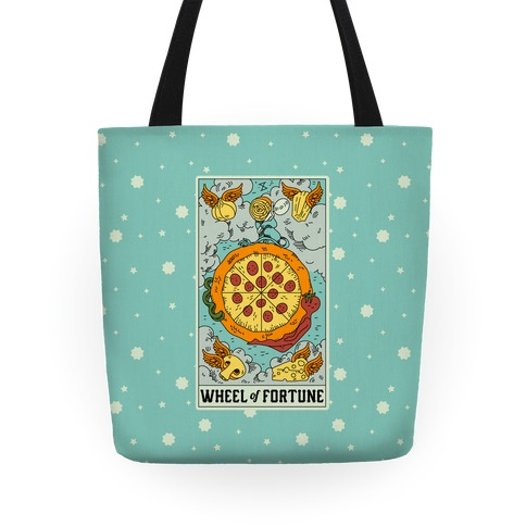 Wheel Of Fortune Pizza Tote