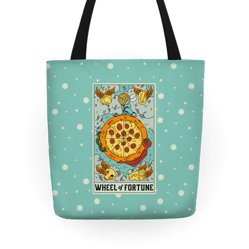Wheel Of Fortune Pizza Tote