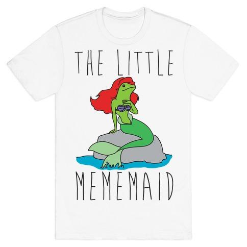 The Little Mememaid Parody T-Shirt