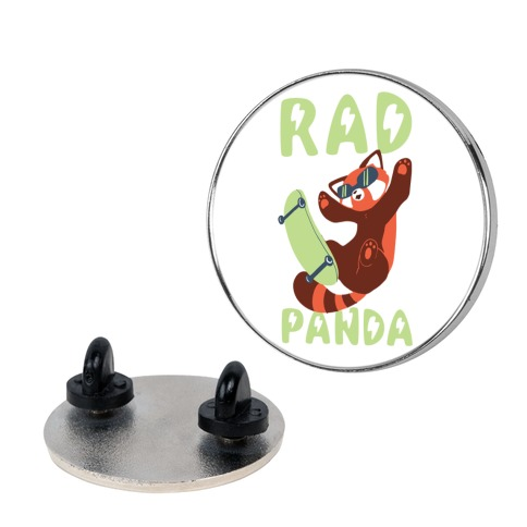 Rad Panda - Red Panda pin