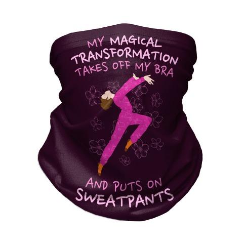 Magical Sweatpants Transformation Neck Gaiter
