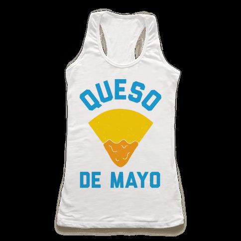Queso De Mayo Racerback Tank Top