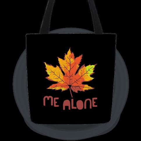 Leaf Me Alone Tote