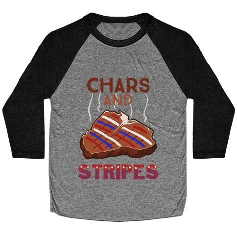 Chars And Stripes Baseball Tee