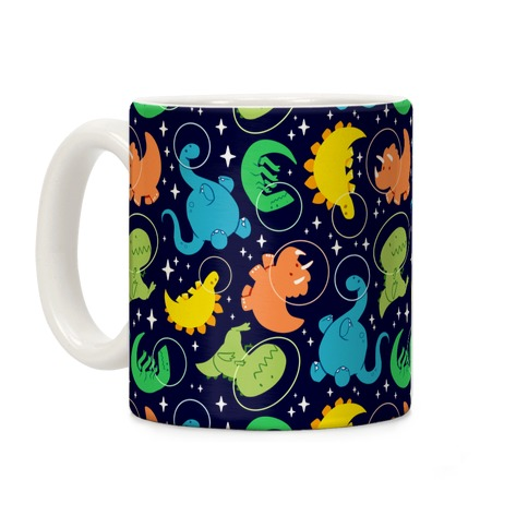 Space Dinos Coffee Mug