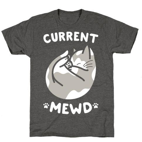 Current Mewd: Catnap (White) T-Shirt