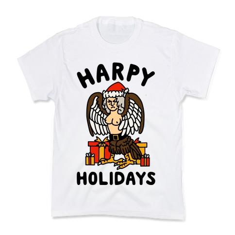 Harpy Holidays Kids T-Shirt